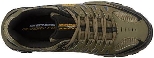 Skechers Men's Afterburn Memory-Foam Lace-up Sneaker 10