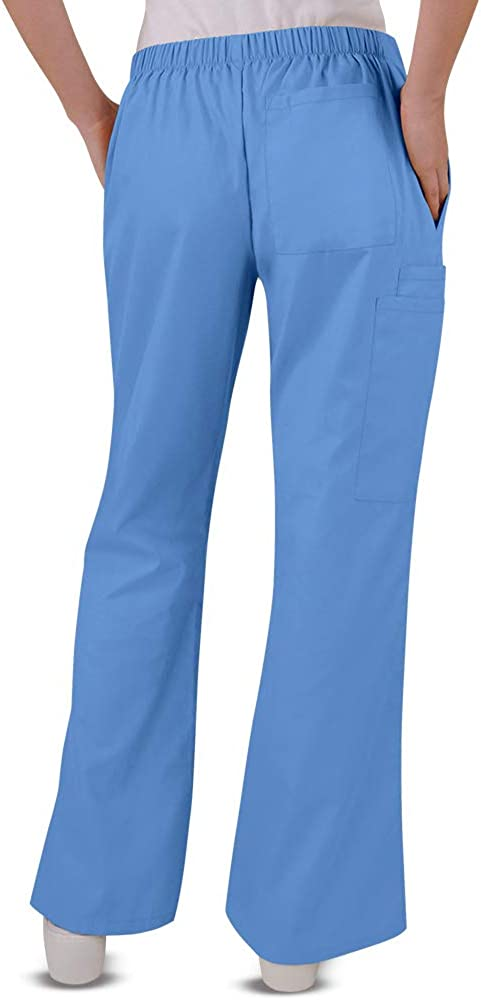 Butter-Soft Womens Drawstring Scrub Pant by Uniform Advantage XS-3X, 7 Colors