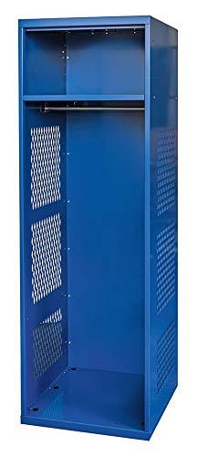 (Hallowell Gear Locker, 24x22x72, Blue, With Shelf - KSNN422-1A-C-GS)