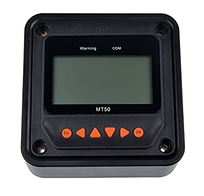 Best Cheap Deal for SolarEpic MT-50 Remote Meter LCD Display Suitable for Tracer BN series MPPT Charge Controller from EPsolar - Free 2 Day Shipping Available