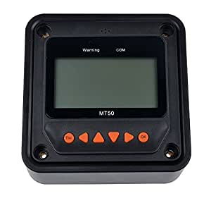 SolarEpic MT-50 Remote Meter LCD Display fit for Tracer BN series MPPT Charge Controller NOT FIT FOR RENOGY & HQST MPPT
