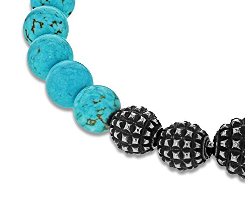 Emanuele Bicocchi Homme Mixte femme  Argent 925/1000  Argent|#Silver Rond   Turquoise Lapis Lazuli