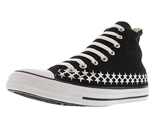 Converse Menns Sko Chuck Taylor All Star Hi Top Svart / Hvit Sneaker