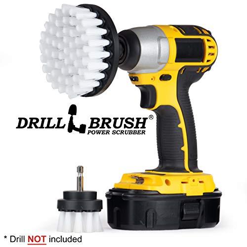 Drill Brush - Cleaning Brush for Drill - Power Scrubber Drill Brush - Drill Brush Set - Drill Brush Attachment - Glass Cleaner - Car Carpet - Drill Brush Rims - Drill Brush Wheels - Car - Boat