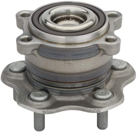 Notes: 4-Wheel ABS Rear Wheel Bearing and Hub Assembly fits 2007 Nissan Altima
