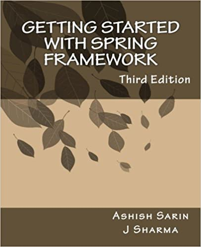 Getting started Spring Framework hands