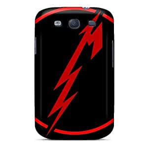 Samsung Galaxy S3 KSe29024guKN Unique Design Attractive Metallica Band Skin Shock-Absorbing Hard Phone Covers -KimberleyBoyes