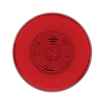 Red LED//Red Lens GLO Light 1 Pack United Pacific 37017 9 LED 2 1//2 Clearance//Marker Light