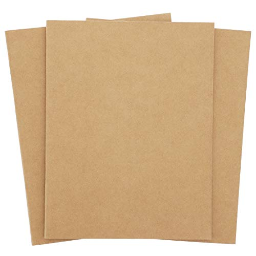 - Paper Junkie 24-Pack Bulk Kraft Unlined Notebooks - Blank Journals for Kids, Creative Writing Class, and Drawing, 8.5 x 11 Inches, Letter Sized, 24 Sheets Each