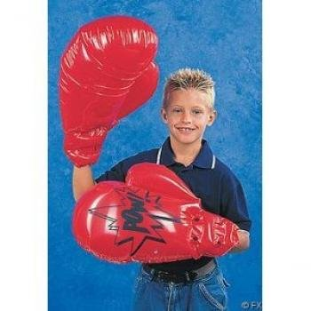 Fun Express Single Pair Giant Jumbo Inflatable Boxing Gloves Toy -