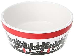 Signature Housewares City Pets Dog Bowl, Large