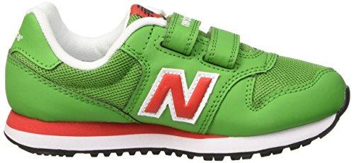 New Balance Jungen Nbkv500gdp Krabbelschuhe Verde (Green Red)
