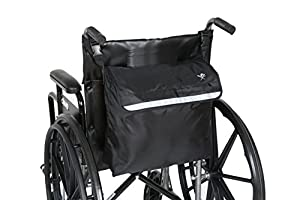 Pembrook Wheelchair Backpack Bag - Great accessory pack for your mobility devices. Fits most Scooters, Walkers, Rollators - Manual, Powered or Electric Wheelchairs from Pembrook
