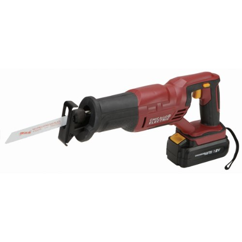18 Volt Variable Speed Cordless Reciprocating Saw (Tool Only)