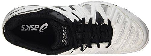 game white Uomo Scarpe Asics silver 5 Tennis Gel Multicolore black Da 5wAqR8