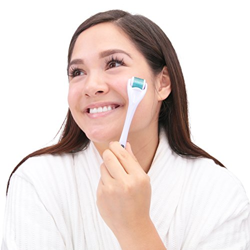 Derma Roller By Kagera - A Beauty Enhancing Titanium Microneedle Facial Roller Boosts Collagen Regeneration Exfoliates & Energizes Your Skin - Because You Deserve To Look Your Best by Kagera (Image #3)