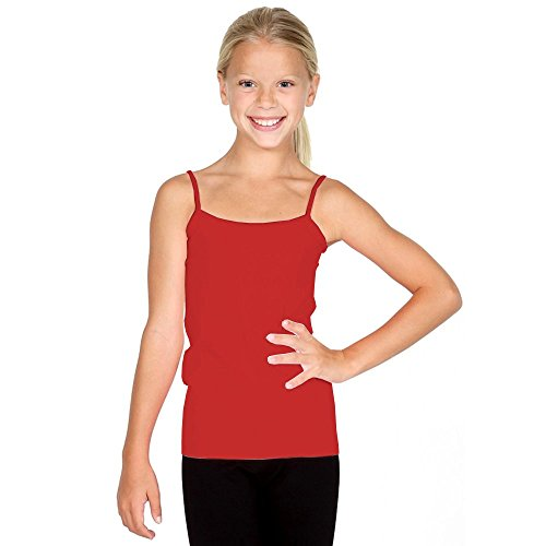 Sugarlips Girl's Seamless Camisole-Red, One (Red Girls Top)