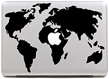 Amazon vati leaves removable world map cool design best vinyl vati leaves removable world map cool design best vinyl decal sticker skin art black perfect for gumiabroncs Gallery