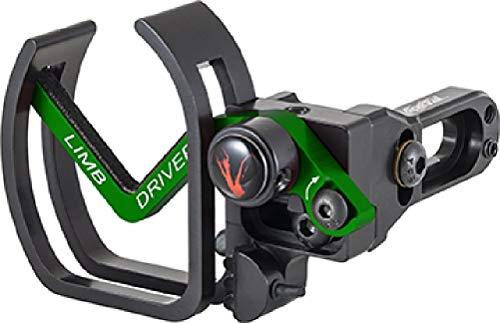 Vapor Trail 85347 Pro-V Green/Black Right Hand Archery Bow Hunting Arrow Rest