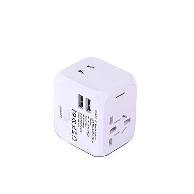 Socket Convertidor de Potencia Multifunción USB Dual Intermec Normas Europeas Hong Kong, Macao y Taiwán Universal Travel Conveniente Six Colors Opcional