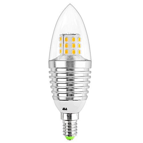 E14 LED Candle Bulb Sunsbell 2835, 7W LED Candelabra Light, Replacement Bulb