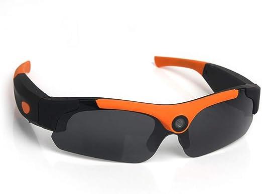 Gafas de sol de ciclismo portátiles 1080 P Paseo en motocicleta Montar bicicleta Gafas de esquí Salvaje Cámaras deportivas al aire libre Tornado Ciclismo Correr Deportes Gafas de sol Para ciclismo al: