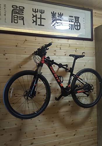 TAO+ 2019 Hemp Rope and Steel Indoor Bicycle Bike Wall Mount Hanger Rack Storage