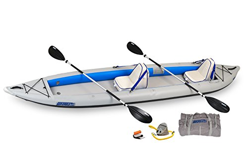 Sea Eagle 465 FastTrack Inflatable Kayak Deluxe 2 Person Package Review