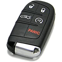 OEM Chrysler Keyless Entry Remote Fob 5-Button Smart Proximity Key (FCC ID: M3N-40821302 / P/N: 56046759)