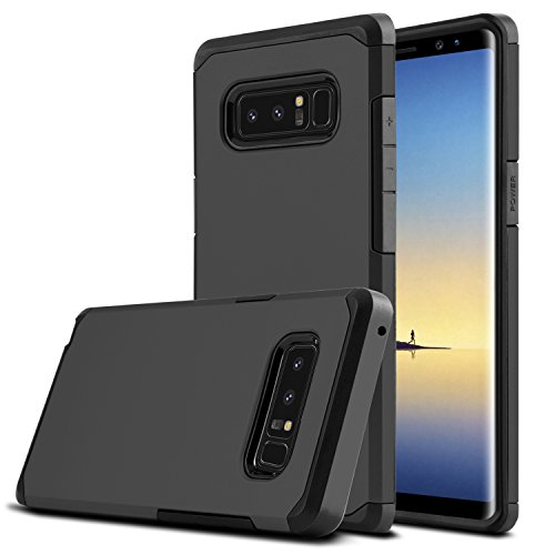 Galaxy Note 8 Case, Venoro Shockproof Slim Anti Scratch Hybrid Dual Layer Armor Defender Protective Phone Case Cover for Samsung Galaxy Note 8 6.3″ 2017 Release