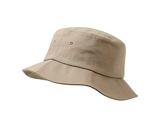 Premium Flexfit Cotton Twill Bucket Hat 5003 (Khaki)