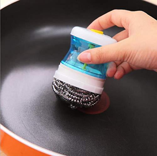 er Wash Clean Tool Holder Soap Dispenser Brush Dish Washer ()