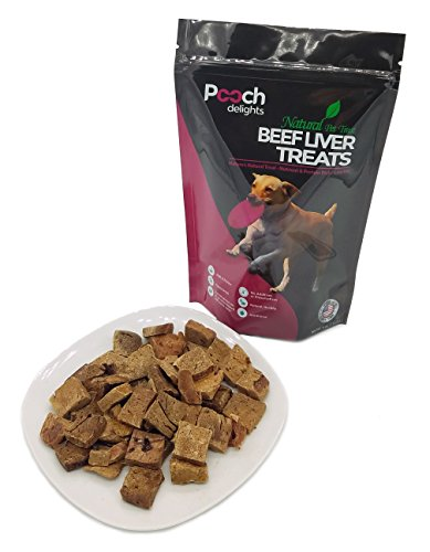Pooch Delights Natural Beef Liver Dog (Pooch Liver Treats)