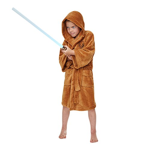 Women's Star Wars Costumes Uk ((4 to 6 Years) Star Wars Jedi Children's Dressing by Groovy UK)