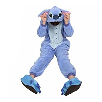 Cosplay Halloween Romper Disney Costume Party Pajamas Sleepwear Stitch S