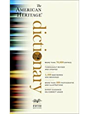 The American Heritage Dictionary: Fifth Edition