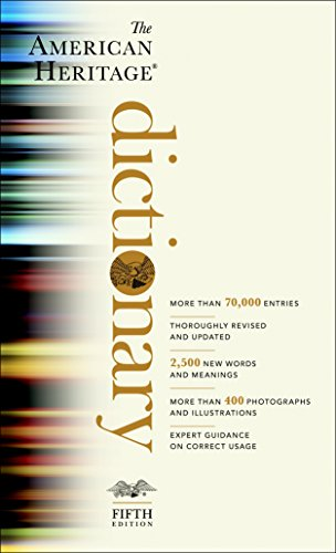 The American Heritage Dictionary: Fifth Edition (American Pocket Thesaurus)