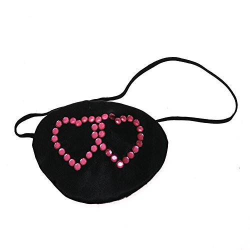 Price comparison product image Rubie's Costume Co Pirate Eyepatch with Hearts Costume