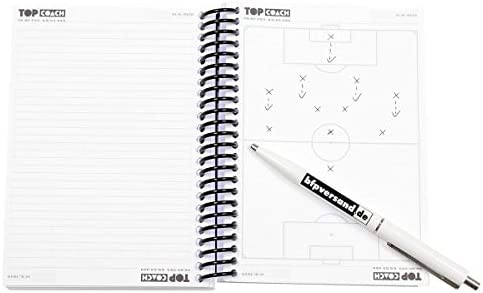 BFP TOP Coach Fußball Ringbuchblock, Trainerblock, A6