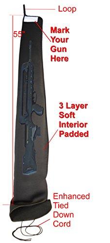 Explorer Neoprene Padded Gun Case
