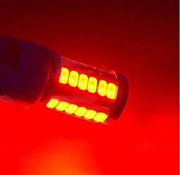 Dingdangbell 2/pcs BA15S P21/W 1156/33-smd 5630/LED Voiture sauvegarde invers/ée ampoule Blanc 12/V
