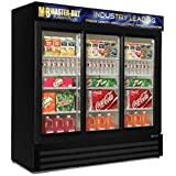 MBGRP74-SL Fusion Plus Glass Door Refrigerator Merchandiser