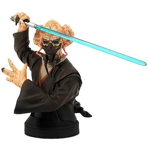 Star Wars Gentle Busts Giant - Star Wars Gentle Giant Episode II Plo Koon MiniBust