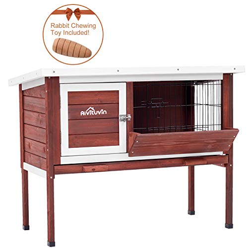 Used, Aivituvin Rabbit Cage, Rabbit Hutch, Indoor Guinea for sale  Delivered anywhere in USA