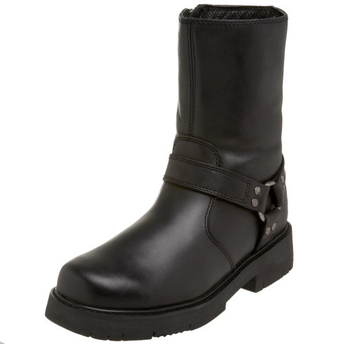 Harley-Davidson Men's Sidestreet Boot,Black,7 M