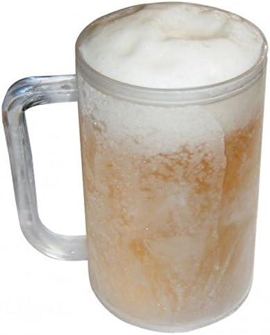 Frosty Mug cerveza cristal – Jarras de Cerveza Congelar Jarra ...