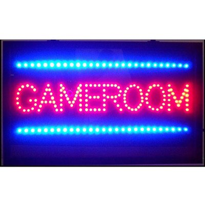 Neonetics 5GAMLE Game Room LED Sign