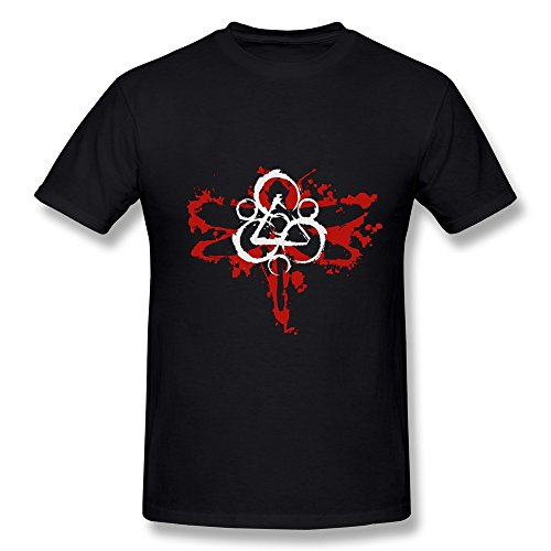 Popular T Shirt For Men Coheed And Cambria Logo 2016 Black