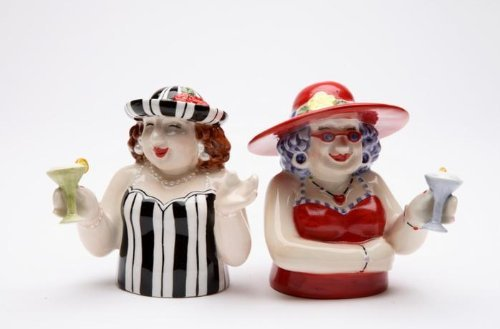 martini salt and pepper shakers - 4