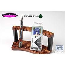 12 Pack Universal Fountain Pen Cartridges - Sherwood Green